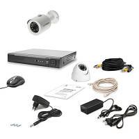 Комплект видеонаблюдения AHD Tecsar 2OUT-MIX LUX