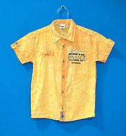 Детские рубашки для мальчиков waxmen 110-134 см , Стильные рубашки для мальчиков
