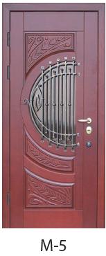 """Вхідні двері """"Порталу"""" (серія Еліт) модель M-5"""