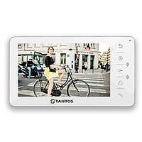"""Tantos Amelie (White) 7"""" hands free monitor simple function, фото 1"""