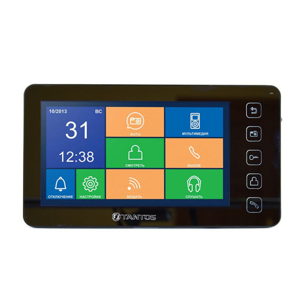 "Tantos Prime - SD Mirror 7"" hands free monitor SD function"