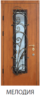 """Входная дверь для улицы """"Портала"""" (серия Элит) модель Мелодия"""