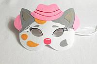 Карнавальная маска Шериф Келли  для сюжетно ролевых детских игр Дикий запад