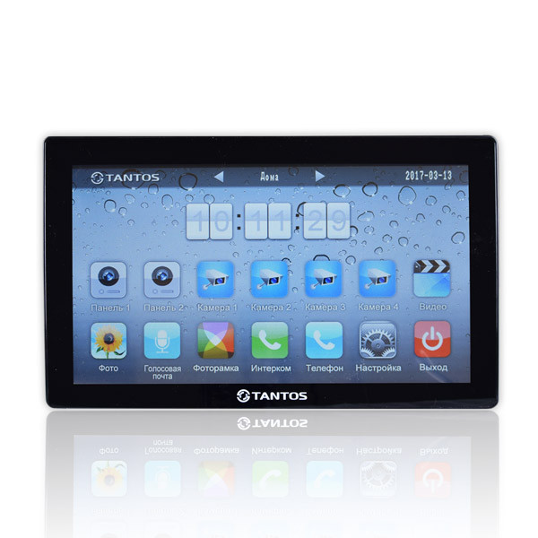 "Tantos Violet (black) 10,1"" hands free monitor multi function"