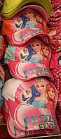 Детская бейсболка для девочки принт мультфильма Frozen