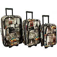 Набор чемоданов на колесах RGL 773 3 штуки City/Город / Комплект Чемоданов