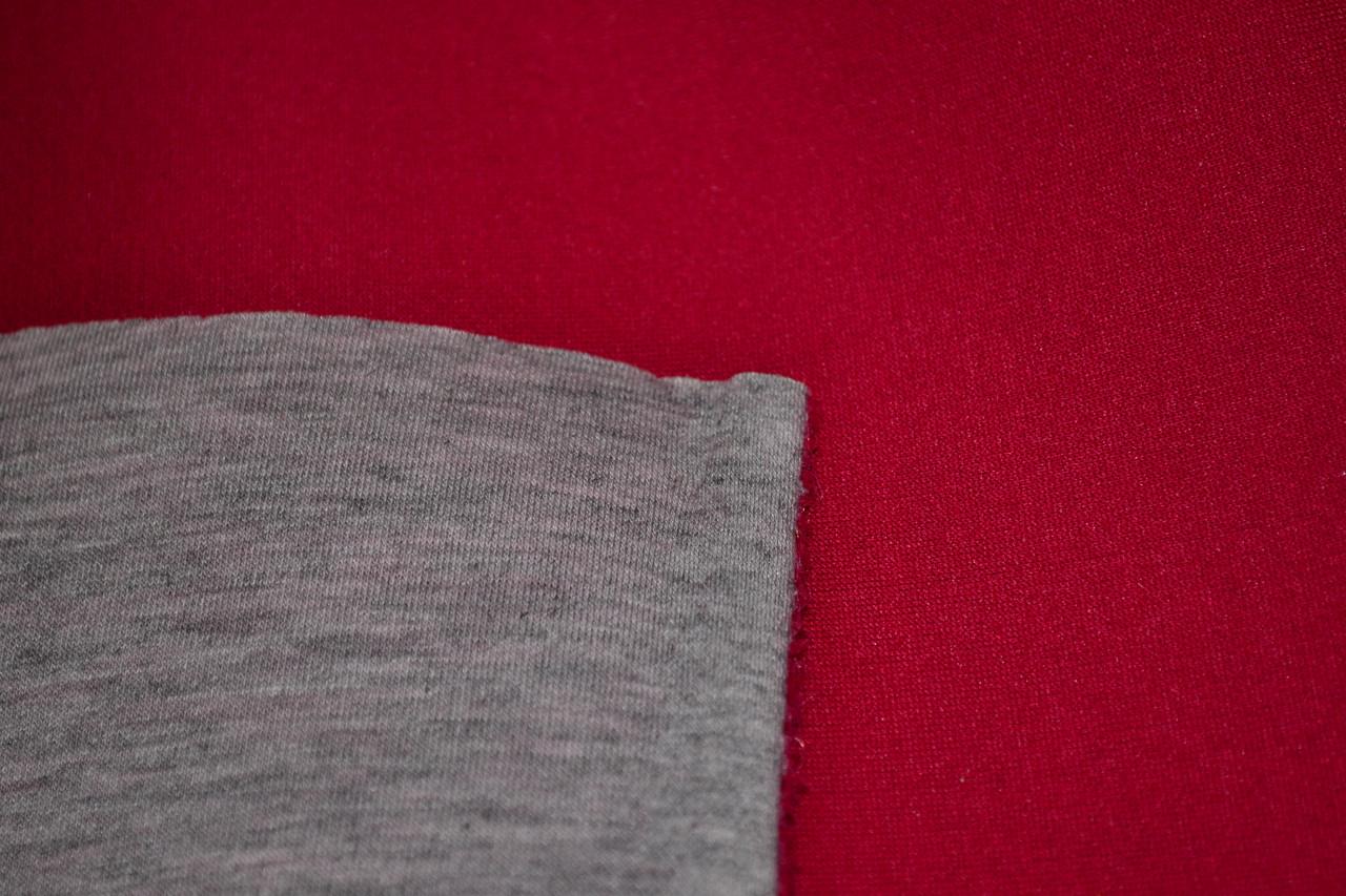 Неопрен двосторонній червоний + меланж