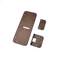 Комплект деталей для металлопластиковых дверей (медь)