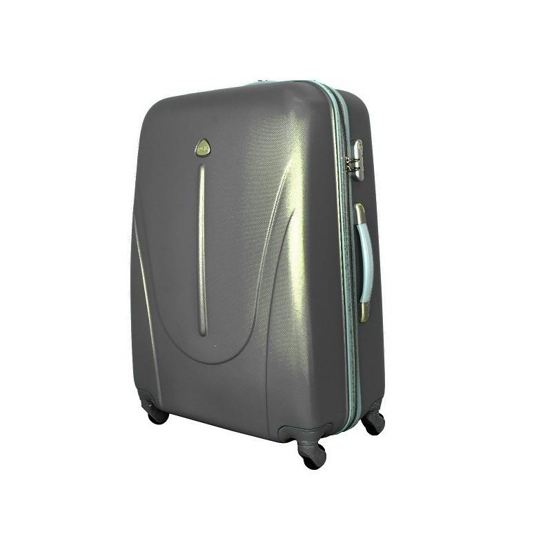Чемодан сумка 882 XXL (средний) темно серый