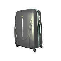Чемодан сумка 882 XXL (средний) темно серый, фото 1