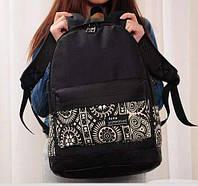 Женская сумка портфель. Городской рюкзак орнамент этно. Женский рюкзак. СР55