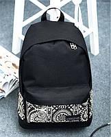 Городской рюкзак орнамент этно. Женская сумка портфель. Мужской рюкзак. СР05