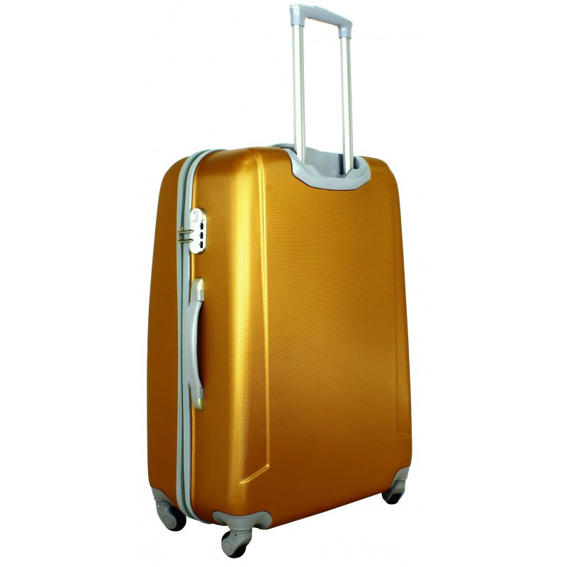 Чемодан сумка 882 XXL (большой) темно золотой