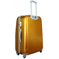 Чемодан сумка 882 XXL (большой) темно золотой, фото 1
