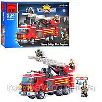 Конструктор типа Лего Brick  Пожарная тревога 904