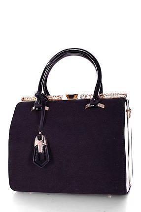 Замшевая женская сумка, фото 2