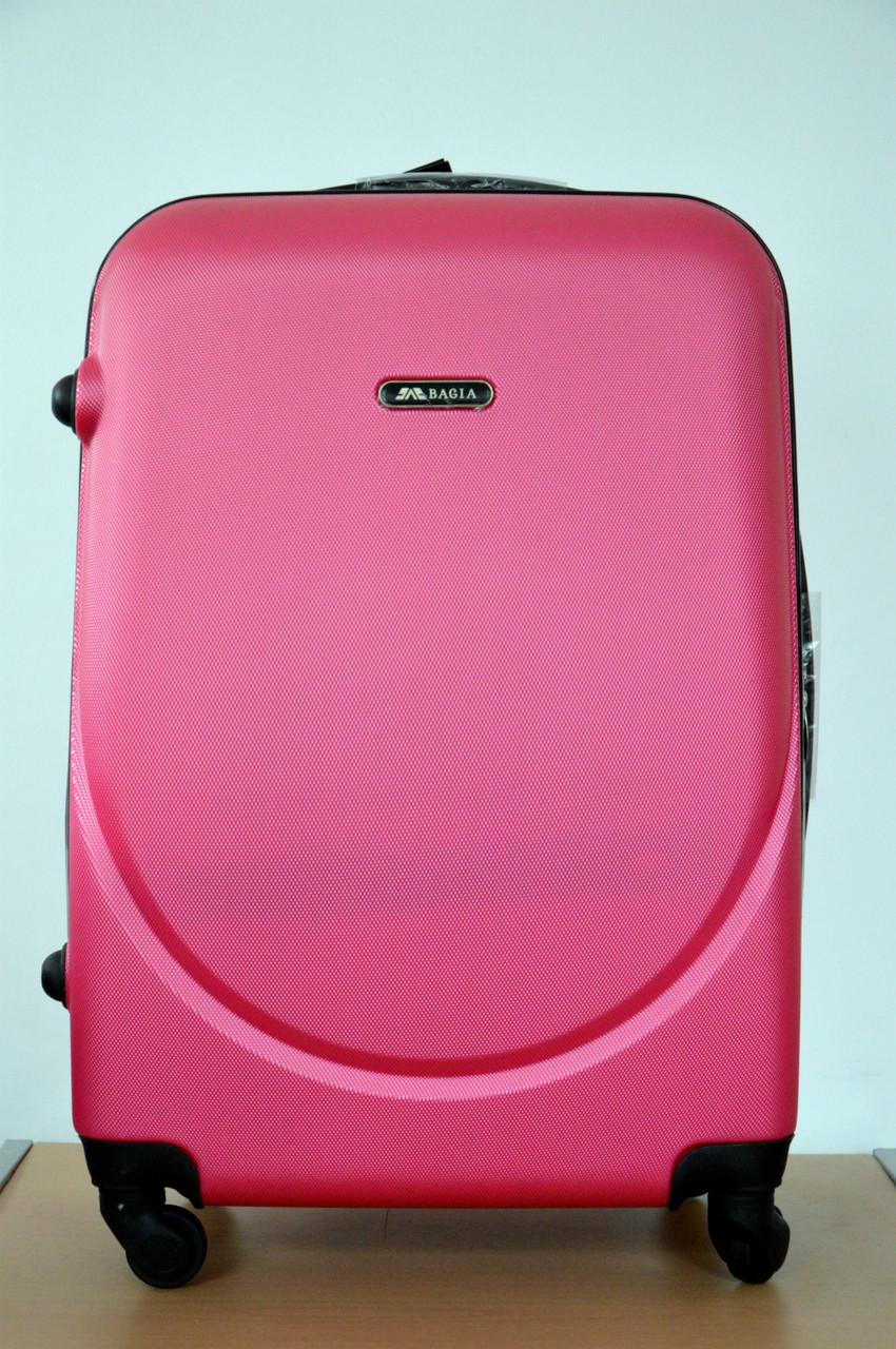 Чемодан сумка Bagia (средний) Rose-Red