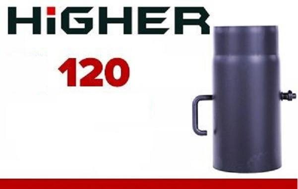 Шибер заслонка (2мм) Ø 120мм