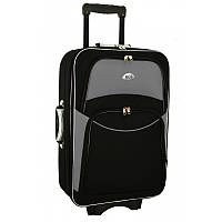 Валіза сумка 773 (великий) чорно-сірий