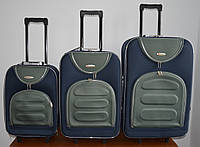 Чемодан сумка Deli 801 (большой) сине серый, фото 1