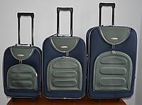 Чемодан сумка Deli 801 (средний) сине серый, фото 1