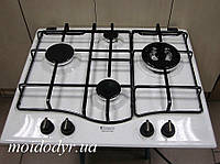 Варочная панель газовая Hotpoint-Ariston PC 640 TR /HA белая эмаль, фото 1
