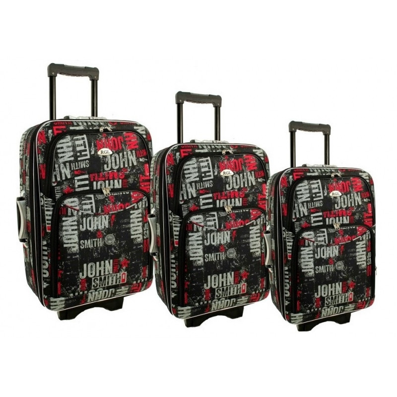 Чемодан сумка 773 набор 3 штуки kolor 1