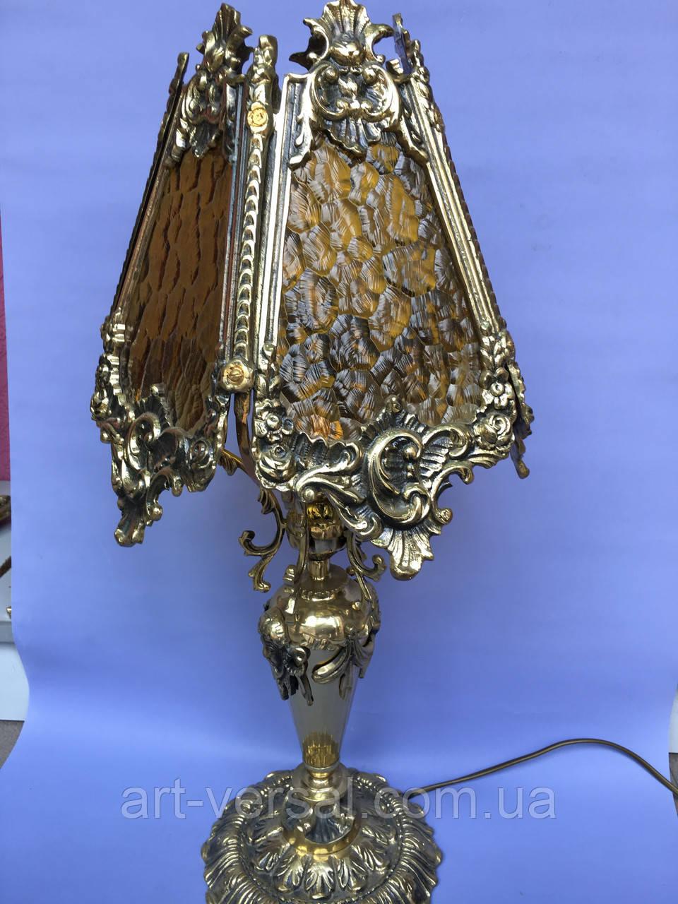 Настільна лампа з бронзи