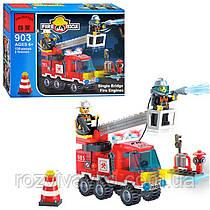 Конструктор типа Лего Brick  Пожарная тревога 903