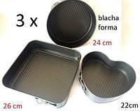 Форма для выпечки 3 шт форма для пирога лист сердце Польша