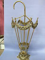 Ажурная подставка для зонтов из бронзы, фото 1