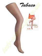 Капроновые колготки Lady Sabina 20den classik, Tobacco-4