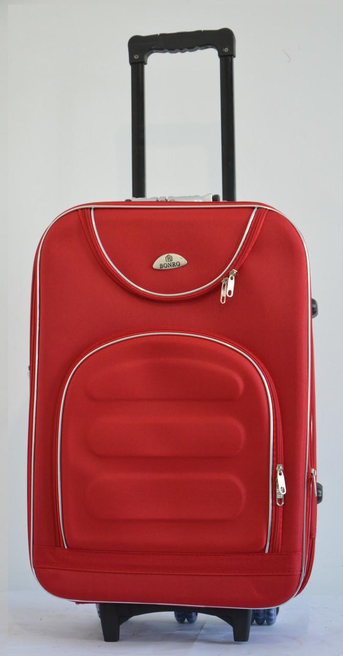 Чемодан Bonro Lux (большой) красный