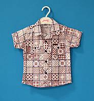 Детские рубашки для мальчиков 1-4 лет, Детские рубашки на мальчика интернет магазин