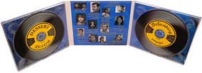 Digipack (диджипак) для 2 CD  3 лепестка 300 шт