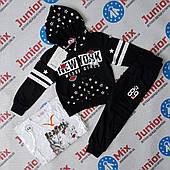Трикотажний спортивний костюм на дівчинку трійка SEAGULL