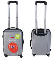 Чемодан сумка Gravitt 310 (небольшой) серый
