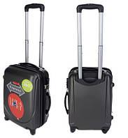 Чемодан сумка Gravitt 310 (небольшой) темно серый