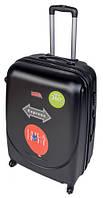 Чемодан сумка Gravitt 310 (средний) черный
