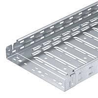 Лоток RKSM 630 FS перфорированный, 60х300х3050, сталь оцинкованная. ОБО. 6047654