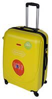 Чемодан сумка Gravitt 310 (большой) желтый