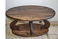 Журнальний столик з натурального дерева (Журнальный столик из натурального дерева)