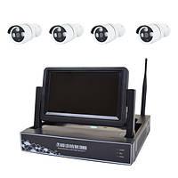 Комплект видеонаблюдения NVR-6400NM-W-KIT
