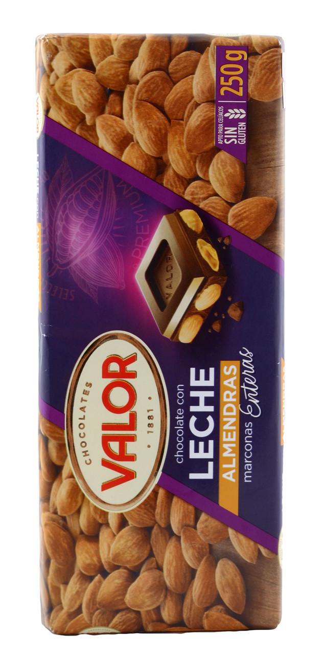 Шоколад Valor с миндалем, 250 гр.