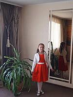 Шикарное платье для девочки Жакард 2