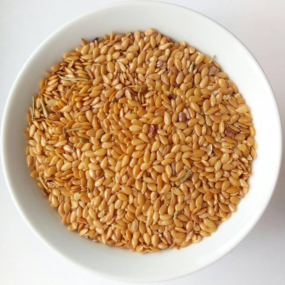 Семена льна золотого (урожай 2018) 1 кг.