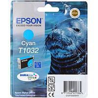 Epson T1032 Картридж Сyan повышенной емкости (C13T10324A10)
