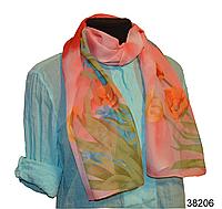 Модный весенний шарф Тюльпан