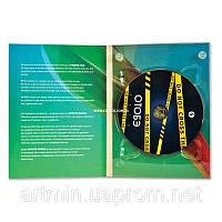 Digipack (диджипак) для 1 DVD  2 лепестка от 300 шт