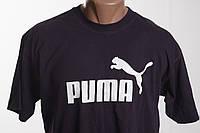 Puma футболка мужская  размер S   ПОГ 52 см  б/у